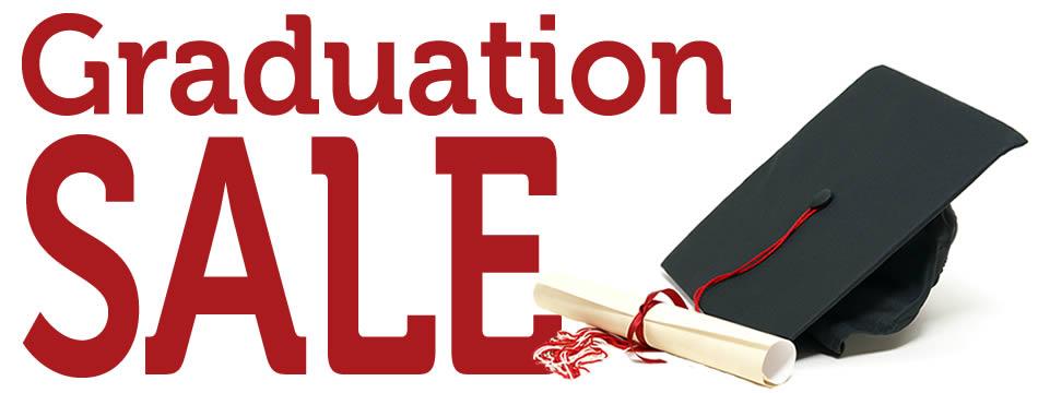 Graduation Sale Banner