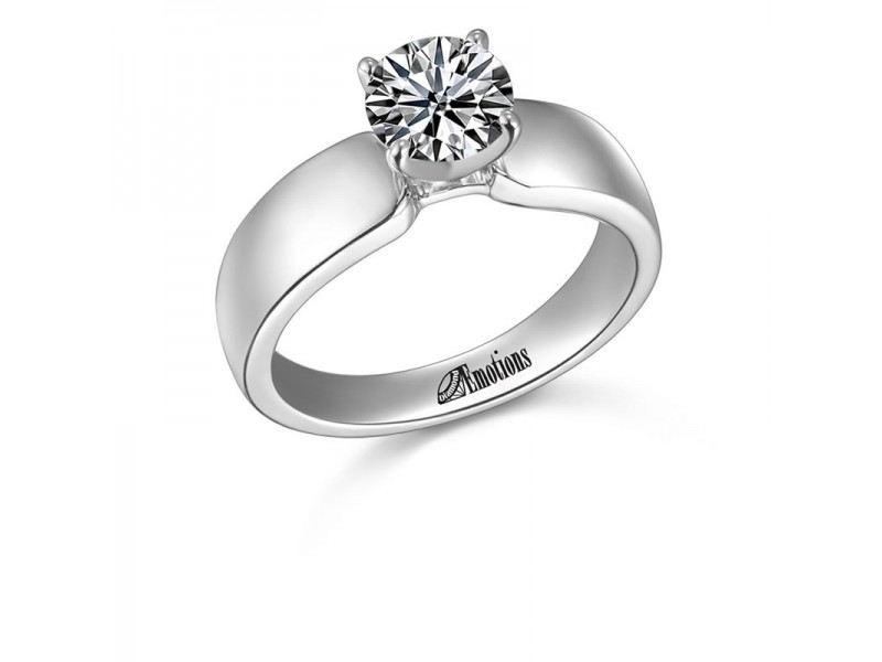Simplicity - Diamond Solitaire Ring