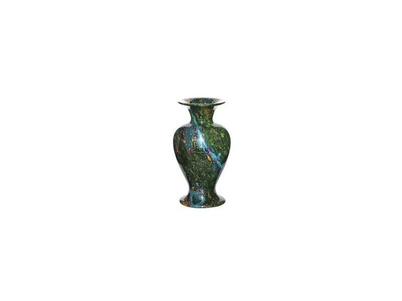 "8""x19"" Large Solid Jade Vase"