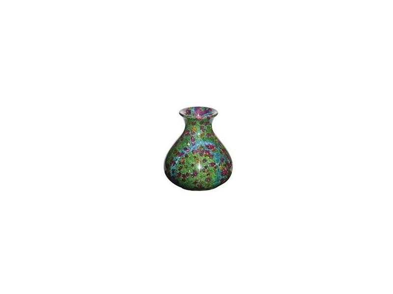 "8""x9"" Medium Solid Jade Vase"