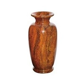"6.5""x13"" Medium Solid Jade Vase"