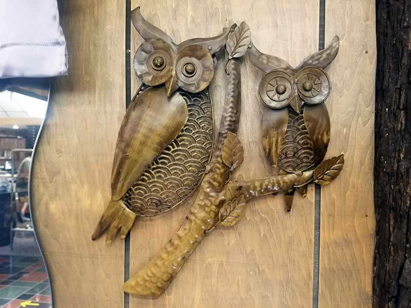 Carved Wall Art - Owls